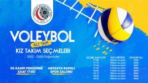 Antakya Belediyesi Kadın Voleybol Seçmeleri