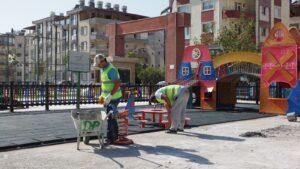 Çocuk Oyun Alanları Büyükşehir İle Yenileniyor